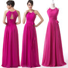 XMAS FREE SHIP Mother Of The Bride Long Wedding Evening Prom Party Dresses Gown
