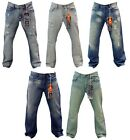 NWT MEN HALIFAX 5 DIFFERENT COLORS OF STRAIGHT OR SLIM STRAIGHT JEANS DENIM
