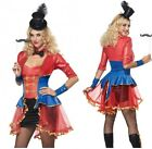 Women's Circus Ringmaster Fancy Dress Costume