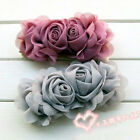 FASHION CHIFFON ROSE FLOWER WAIST BAND BELT BEACH NEW 6 COLORS