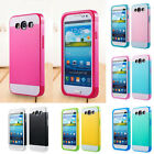 Nice Hybrid Impact Dual Layer Bumper Hard Case Cover For Samsung Galaxy S3 /S5
