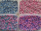Wholesale 500 x 8mm 2 Tone 3D Illusion Miracle Beads Pink/White, Blue/White ...