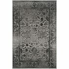 Grey/ Black Safavieh Power-Loomed Area Rugs - ADR109B