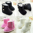 Baby boots girl boy snow winter Soft bottom Shoes size 0-6 6-12 12-18 months