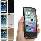 External 3200mAh Backup Power Battery Charger Stand Case For Apple iPhone 6 4.7""