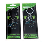 How To Train Your Dragon Toothless Necklace Pendant KeyRing Night Fury Metal New