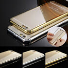Ultra-Thin Aluminum Metal Hard Frame Bumper Case Cover For Apple iPhone 6 6 Plus