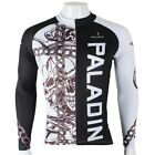 Chain Skull Cycling Clothing Bike Sportwear Bicycle Long Sleeve Jersey Top