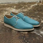 NEW Mens Mr Hare Turquoise Blue White King Tubby Lace Up Shoes GENUINE RRP £420