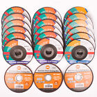 """CUTTING GRINDING DISCS 115mm METAL STONE STAINLESS STEEL 41/2"""" GRINDER GREEN JEM"""