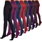 Womens Opaque TIGHTS Soft Microfibre 60 Denier Pantyhose Sizes S-M-L-XL Colours