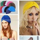 1X Unisex Indian Style Stretchable Turban Hat Hair Head Wrap Cap Headwrap #SM3