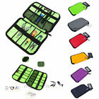Travel Cable Organizer Case Bag For USB Flash Drive Headsets Chargers Pen Pencil