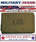 Olive Drab Military Genuine GI US Virgin Wool Blanket 62