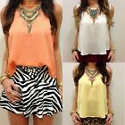 Lady Sexy Candy Mesh Cut Out Frill Tops Tank T Shirt Party Beach Casual Blouse C