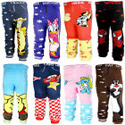 Cute Cartoon Cotton Leggings Trousers for Baby Toddler Kid Boys Girls 6-36 Month