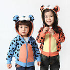 Boys Girls Jacket, Baby Kids Hoodies + Cartoon Tigger Design 12 Months - Age 5