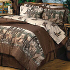 Whitetails Dream Deer Print Comforter Bed In A Bag FREE SHIPPING!
