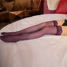 2 Pairs Fashion & Sexy Women Lace Stay Up Thigh-High Stockings Z