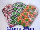 2X85pcs Reliable Plastic Gifts Jewellery Bags Shopping Market 12x20cm 3 Chooses