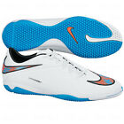 Nike HyperVenom IN Phelon INDOOR 2014  Soccer SHOES White / Blue / Coral Red