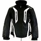 HJC WOMENS STORM JACKET BLACK/WHITE SIZE SMALL, MEDIUM 1406-062, 1406-063