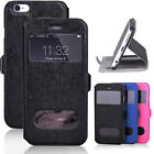 "Ultra Slim Flip Wallet Leather Stand Case Cover For Apple iPhone 6 4.7"" Plus 5.5"
