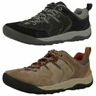 Mens Clarks Active Wear Trainers Outpass Lace