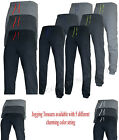 MENS FLEECE JOGGERS JOGGING TRACKSUIT BOTTOMS (GS ELASTICATED) CUFFED TROUSERS