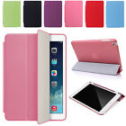 Leather Case Slim Cover Smart Stand for Apple iPad Mini 1 2 3 Air Film + Stylus