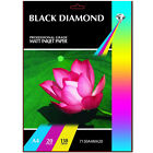 BLACK DIAMOND PREMIUM QUALITY A4 PHOTO PAPER 20 SHEETS 130GSM MATT /MATTE FINISH