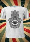 Hamsa Hand Khamsa Defend Evil Eye Fashion T Shirt Men Women Unisex 1784