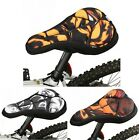 Bicycle Silicone Bike Comfort Saddle Cycling Seat Cover Gel Cushion Pad 3-Styles