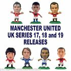 MANCHESTER UNITED MicroStars - UK Series 17, 18, 19 Choice of 15 figures