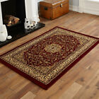 LARGE MEDIUM MODERN EXTRA LARGE ELEGANT TRADITIONAL CLASSIC RED COLOUR RUGS