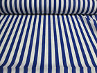 11mm Candy Stripes Polycotton Fabric. Two Colours!