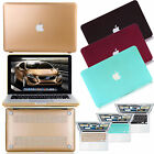 Anti scratch Rubberized Hard Case cut-out cover For Macbook Pro 13 15 Air 11 13