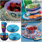 16pc MELAMINE TABLEWARE SET- Everyday, Picnic, Camping, Party, Barbeque, Dinner