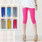 Sexy Skinny Stretch Viscose Colorful Solid Legging Pants 5 Colors New