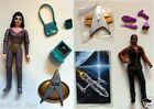 Playmates Star Trek loose action figures Deanna Troi and Lily