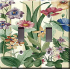 Light Switch Plate Cover - Scenery botanical floral - Botanic flowers nature