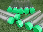 Biggest Preform Geocache Container Pack of 10 or 20 With Lids 200mm Long