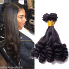 """7A Unprocessed Brazilian Human Hair Extension 10""""-30"""" Funmi Curly Natural Black"""
