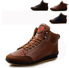 Cool Men's Comfort Casual Winter Lace Up Sneakers Ankle Boots Flats Shoes AU AT