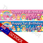 Care Bears Personalised Birthday Banner – Add your name and age!