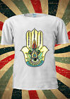 Hamsa Hand Khamsa Defend Evil Eye Jewellery T Shirt Men Women Unisex 1832