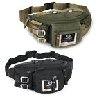 New Black Green Waist Fanny Pack Bum Belt Bag Pouch Travel Hip Purse Mens Women