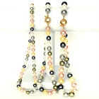 Jewelry 8mm 10mm 12mm Lady's South Sea Shell Pearl Beads Necklace Pick Size