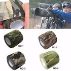 Army Camo Self Cling Stretch Wrap Rifle Outdoor Shooting Camouflage Stealth Tape