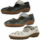 Ladies Rieker Casual Flat Shoes 44865
